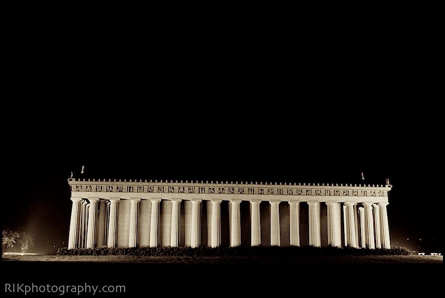 My first night shot of the Parthenon in years.  Brings back old memoires...