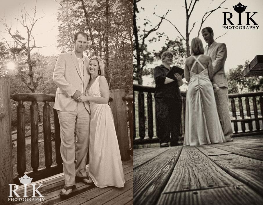Gatlinburg Cabin Wedding Gatlinburg Wedding Photographer